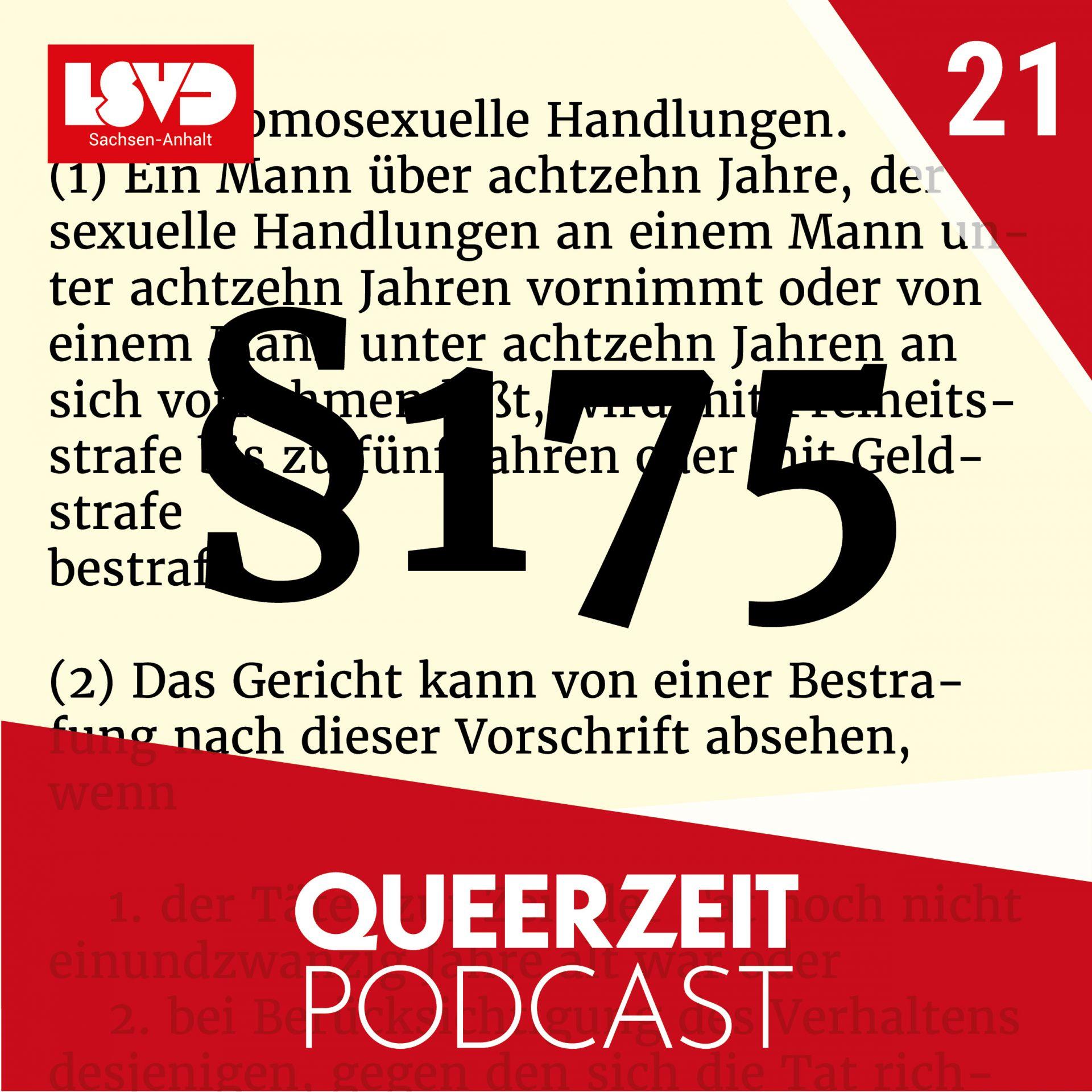 Queerzeit #21 – Entstehung & Geschichte des Schwulenparagraph